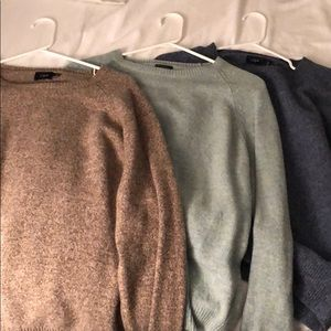 Mens J Crew Sweaters Size Large - Like New!